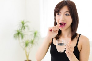 歯磨き粉の効能が弱まる