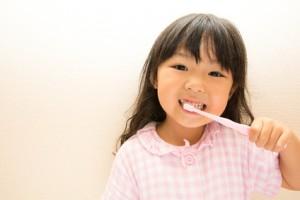 小児の歯磨き