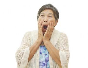 高齢者ほど歯周病になりやすい