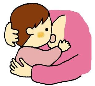 【乳児期】 母乳で口をきたえる